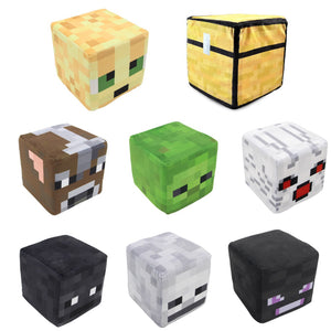 20cm Minecraft Plush (Trapped Chest,Steve,Creeper)