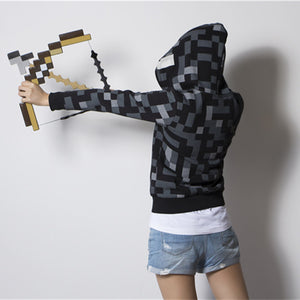 Smith Minecraft Pixel Mosaic Bow And Arrow Assembled