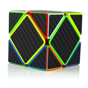 Skewb Speed Cube Puzzle Carbon Fiber Sticker
