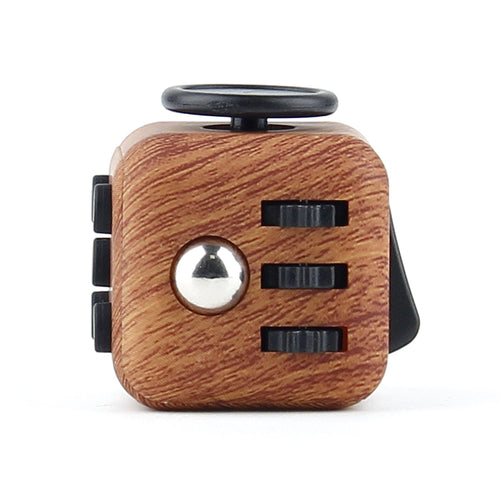 3.3cm Fidget Cube Camouflage and Wood Grain