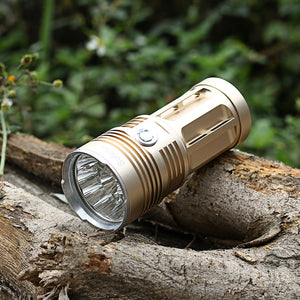 10T6 11T6 12T6 13T6 14T6 XML T6 Ultra Bright LED Flashlight 18650 Portable High Power