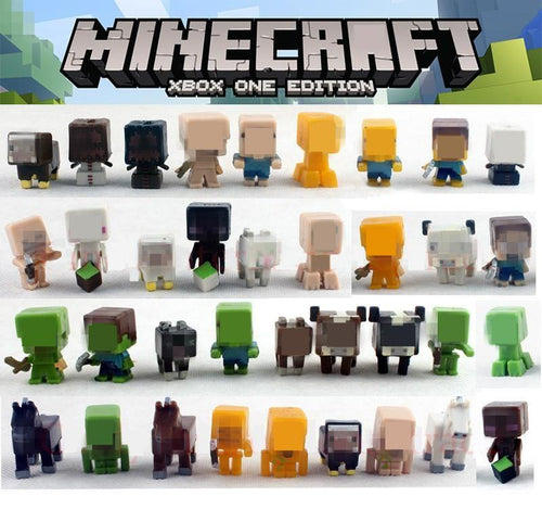 36pcs/lot Minecraft More Characters