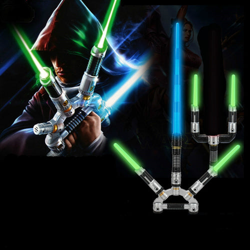 Star Wars Combination Retractable Lightsaber Weapons Swords Three in One