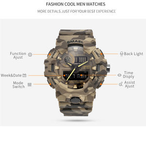 Military Waterproof Sport Watch