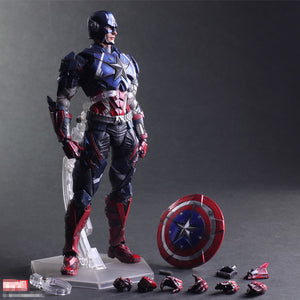 28cm Captain American Collectable Figure