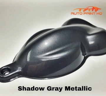 Gunmetal Shadow Gray Basecoat + Reducer Gallon (Basecoat Only) Auto Paint Kit