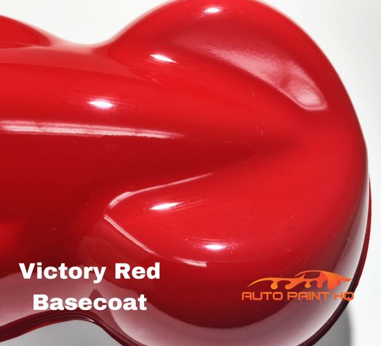 Victory Red Basecoat with Reducer Gallon (Basecoat Only) Car Auto Paint Kit