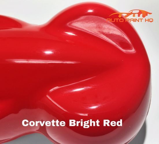 Corvette Red Basecoat with Reducer Gallon (Basecoat Only) Car Auto Paint Kit