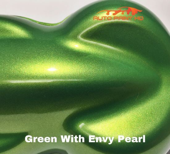 Green With Envy Basecoat + Reducer Quart (Basecoat Only) Motorcycle Auto Paint