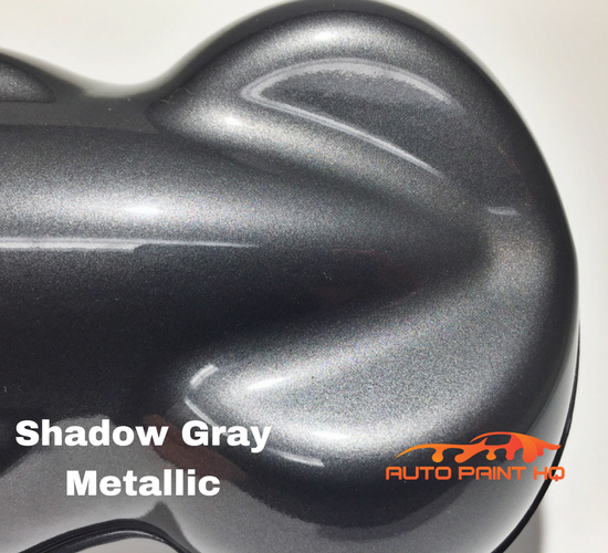 Gunmetal Shadow Gray Metallic Basecoat Clear Gallon Kit