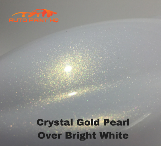 Tri-coat Gold Pearl Basecoat Quart (Over Bright White Base)