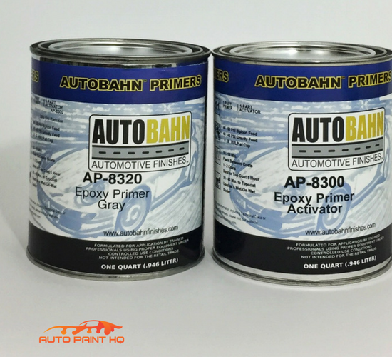 Epoxy Primer Surfacer DTM Quart Kit
