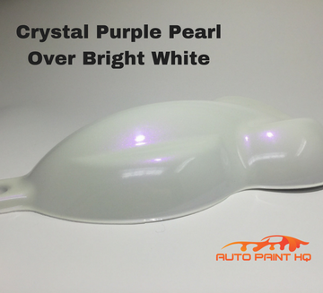 Tri-coat Purple Pearl Basecoat Gallon (Over Bright White Base)