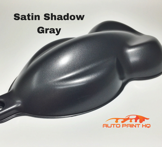 Satin Gunmetal Shadow Gray Basecoat Quart Kit