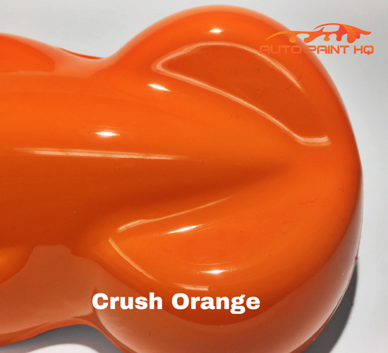 Crush Orange Basecoat Clearcoat Quart Kit