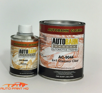 Super Wet Glamour Clear Coat Quart + Act 4:1 Mix