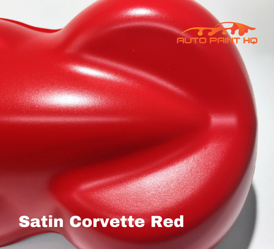 Satin Corvette Red Basecoat Clear Gallon Kit