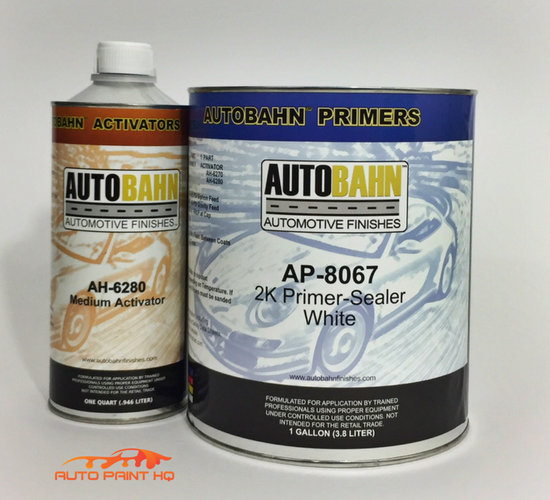 2K Urethane Sealer Primer Gallon Kit
