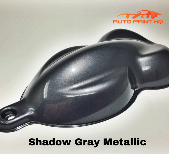 Gunmetal Shadow Gray Metallic Basecoat Quart Kit