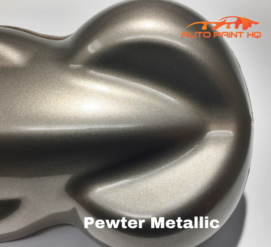 Pewter Metallic Basecoat Clearcoat Quart Kit