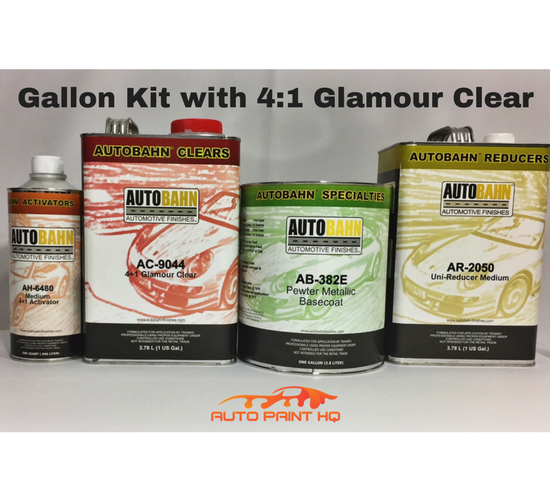 Pewter Metallic Basecoat Clearcoat Gallon Kit