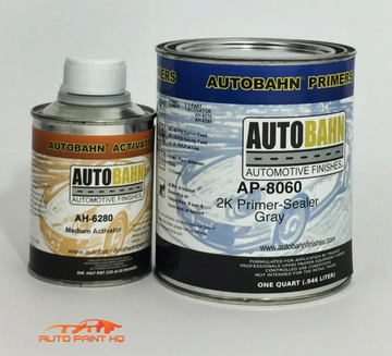 2K Urethane Sealer Primer Quart Kit