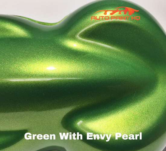 Green with Envy Pearl Basecoat Clear Quart Kit