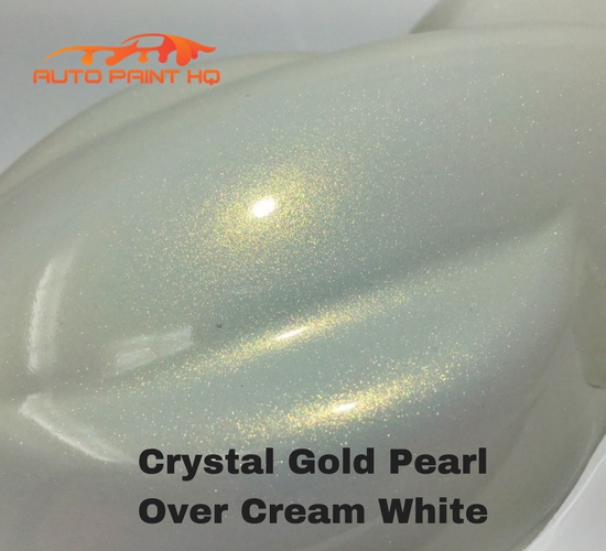 Tri-coat Gold Pearl Basecoat Gallon (Over Cream White Base)