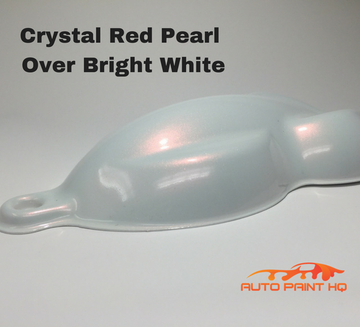 Tri-coat Red Pearl Basecoat Quart (Over Bright White Base)