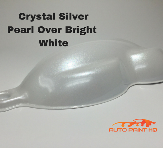 Tri-coat Silver Pearl Basecoat Gallon (Over Bright White Base)