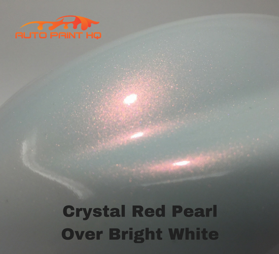 Tri-coat Red Pearl Basecoat Gallon (Over Bright White Base)