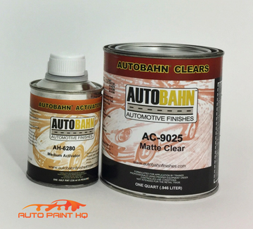 Low Gloss Satin Clear Coat Quart + Act 4:1 Mix