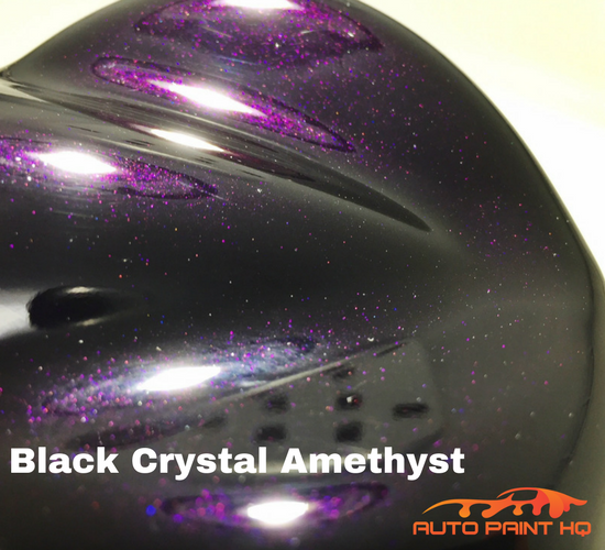 Black Crystal Amethyst Basecoat Quart Kit