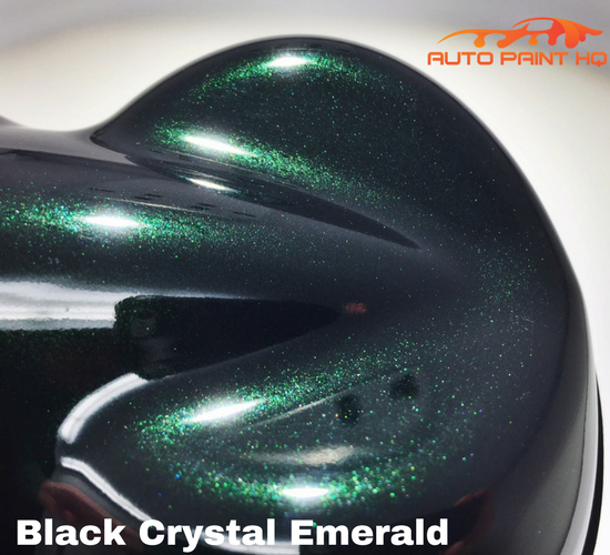 Black Crystal Emerald Acrylic Enamel Gallon Kit