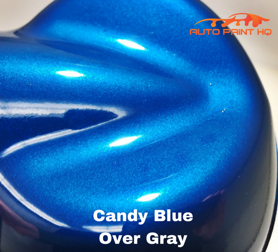Candy Blue Basecoat Gallon Kit (Over Gray Base)