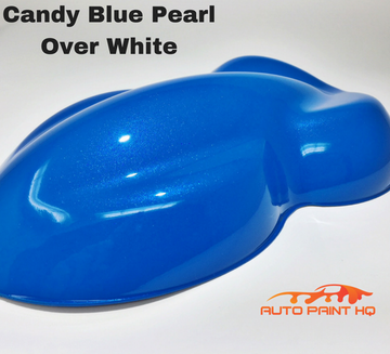 Candy Blue Pearl Basecoat Gallon Kit (Over White Base)