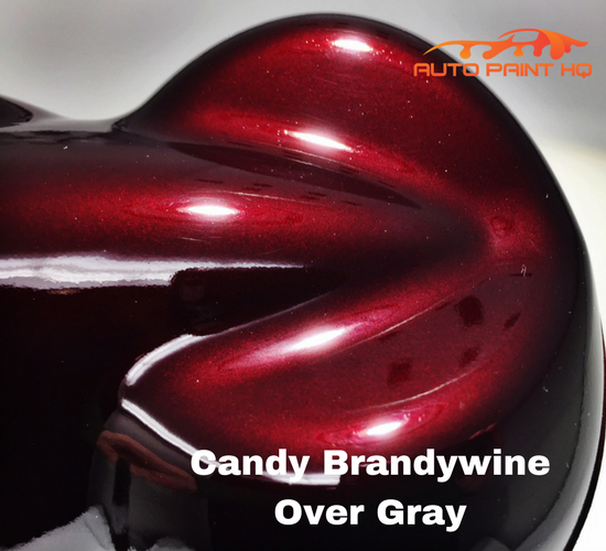 Candy Brandywine Basecoat Quart Kit (Over Gray Base)
