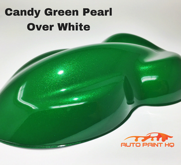 Candy Green Pearl Basecoat Gallon Kit (Over White Base)