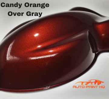 Candy Orange Basecoat Gallon Kit (Over Gray Base)
