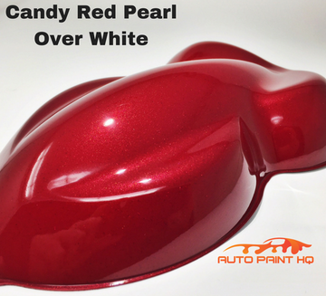 Candy Red Pearl Basecoat Gallon Kit (Over White Base)