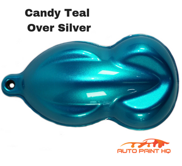 Candy Teal Basecoat Gallon Kit (Over Silver Base)