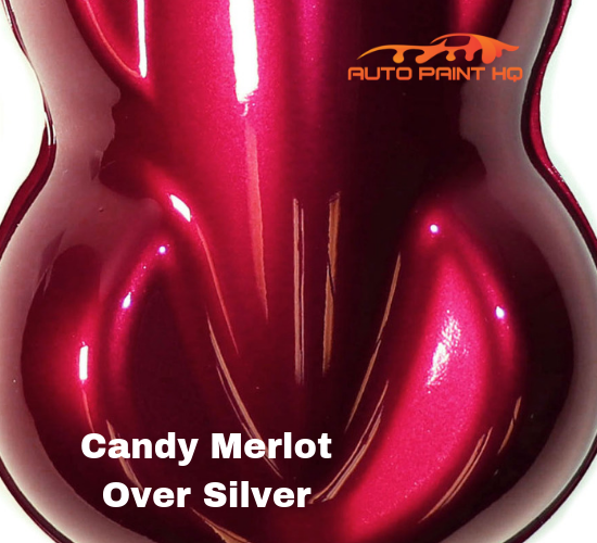 Candy Merlot Basecoat Gallon Kit (Over Silver Base)