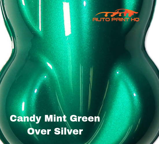 Candy Mint Green Basecoat Quart Kit (Over Silver Base)