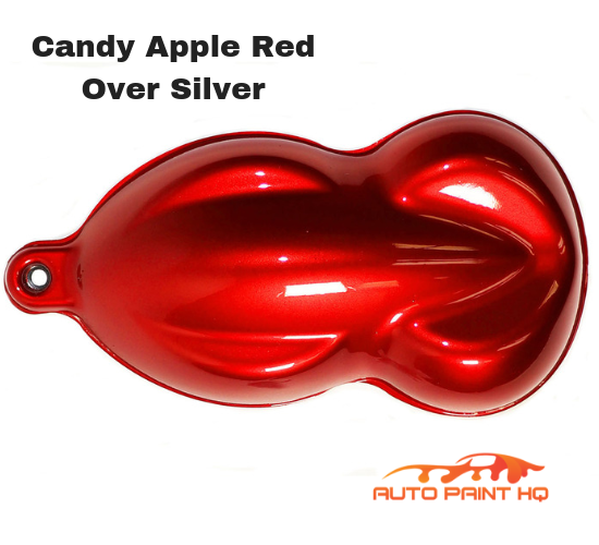 Candy Apple Red Basecoat Quart Kit (Over Silver Base)