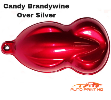 Candy Brandywine Basecoat Quart Kit (Over Silver Base)