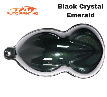 Black Crystal Emerald Pearl Acrylic Urethane Single Stage Gallon Auto Paint Kit