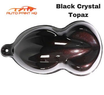Black Crystal Topaz Pearl Acrylic Urethane Single Stage Gallon Auto Paint Kit