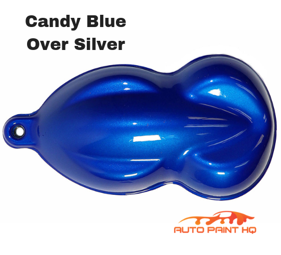 Candy Blue Basecoat Quart Kit (Over Silver Base)