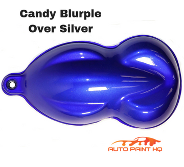 Candy Blurple Basecoat Quart Kit (Over Silver Base)