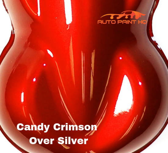 Candy Crimson Basecoat Quart Kit (Over Silver Base)